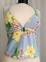 Tommy Hilfiger Women's Swimwear Blue Floral Tankini SIze 12 NWT - $17.33