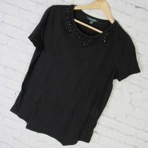 Ralph Lauren T-Shirt Femmes TAILLE M Noir Décoré Mrsp - $47.55