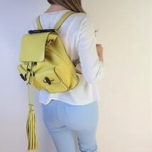 Gucci Calfskin Medium Bamboo Backpack Mimosa Flower - $999.00