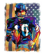 "Fran Tarkenton, Minnesota Vikings, Quarterback, Football, 18""x24"" Art Pr... - $19.99"