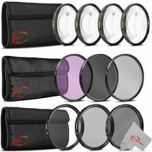 Vivitar 67mm UV CPL ND Lens, Macro + Filter Kit - $66.99