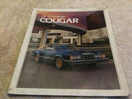 1979 Mercury Cougar sales brochure -- lots of eye appeal Ford Motor Co. original - $13.99