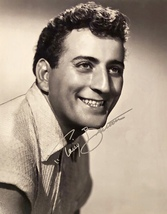 Tony Bennett Autographed Hand Signed 11x14 Photo w/COA Singer Composer Handsome! - $149.99