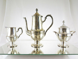 Service For Coffee IN Sheffield First 900 Style Liberty Art Nouveau Orig... - $282.67