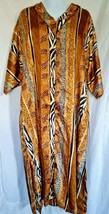 Animal Print African Lounge Dress Size 2XL Luxell Intimates Animal  - $39.55