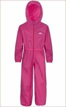 new TRESPASS Tres-Tex kids ski snow jumpsuit romper pink 2/3 82-98 cm MS... - $23.99