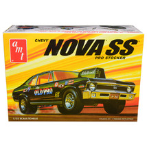 Skill 2 Model Kit 1972 Chevrolet Nova SS Pro Stocker 1/25 Scale Model by... - $43.12