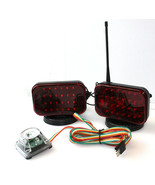 48 LED Wireless Tow Light Kit w/Magnetic Base Cordless Waterproof Haul T... - $67.31