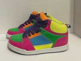 OCEAN PACIFIC Op Multicolor Athletic High Top Sneakers Shoes Size 6 - $34.65