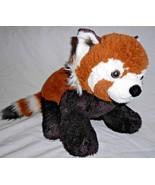 Build a Bear WWF Red Panda Plush Stuffed Animal Striped Tail Brown White - $22.65