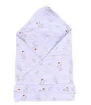 Lovely Cartoon Series Soft Baby Hooded Bath Towel, Blue (100100CM)