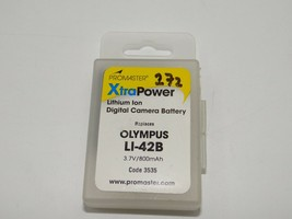 PROMASTER #3535 Lithium ion Li-on replacement battery for Olympus LI-42B - $10.88