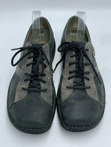 Merrell Mens 10 Charcoal Black Oxford Lace Up Leather Shoes image 2