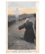 Quo Vadis Apostle Peter to Jesus Artist Henryk Sienkiewicz 1913 Postcard - $6.99