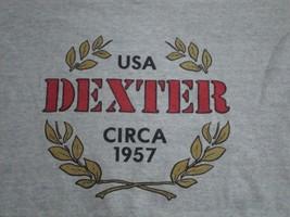 Vintage Dexter Circa 1957 USA Gray T Shirt M - $15.53