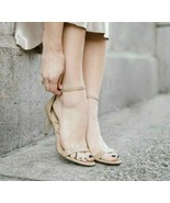 Sam Edelman Patti Women's High Heels Sandals Classic Nude Patent Size US... - $29.30