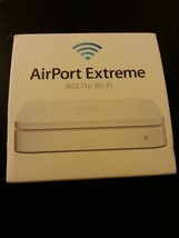 Apple AirPort Extreme 4th Gen Wireless N Router, MC340LL/A (Worlwide Shipping) - $98.99