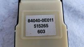 07 Lexus RX350 Driver OEM Window Control Switch & Bezel 84040-0E011 image 5