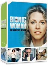 The Bionic Woman Complete Series Season 1 2 3 Collection DVD Set Lot TV ... - $79.19
