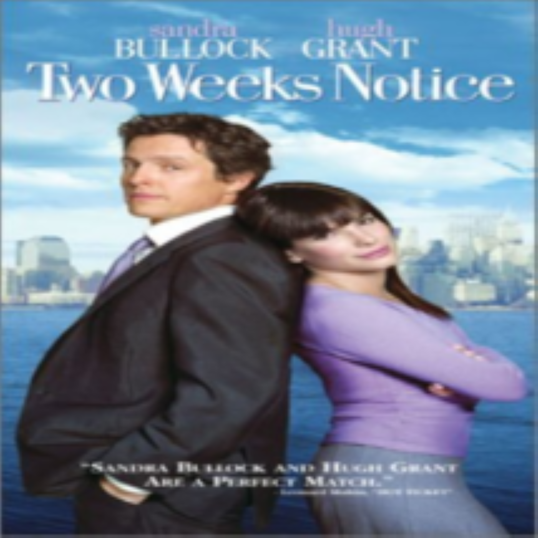 Two Weeks Notice Vhs