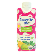 Sweetie Pie Smoothei - Organic - Lactation - Apple Pear - Case of 12 - 1... - $54.48