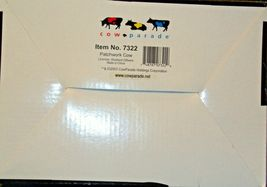 CowParade Patchwork Cow Westland Giftware # 7322 AA-191911 Vintage Collectible image 4