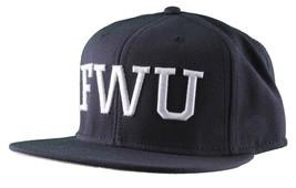 Crooks & Castles F.W.U Fu k with Us Dark Navy Snapback Baseball Hat NWT image 2