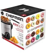 Perfect Party Fryer CHEFMAN Fry Guy Deep Fryer-Donuts, Funnel Cakes, Pre... - $27.74