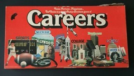 Vintage Careers Board Game Parker Brothers 1979 Family Fame Fortune Happiness - $11.38