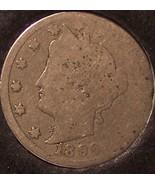 "1896 Liberty Head ""V"" Nickel AG #0668 - $4.29"