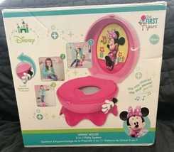 The First Years Disney Baby Minnie Mouse 3-in-1 Potty System Pink NIB St... - $31.67