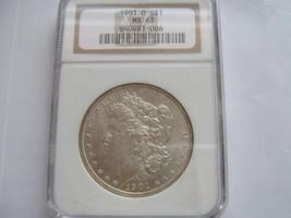 1901-O , Morgan Silver Dollar , NGC , MS 63 - $75.00
