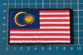 Malaysia Malaysian Flag sew on embroidery patch - $6.99