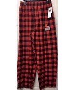 NEW NFL Cleveland Browns   Flannel Sleep Men's Pajamas Red Pants - $10.49