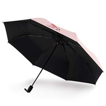 UV Protection Travel Umbrella, Ultra Light Sun Blocking Umbrellas Pink - $28.36