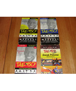 Tae Bo Billy Blanks Ultimate Total Body Workout Fitness VHS Video Tapes ... - $7.91