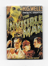 The Invisible Man Movie with Claude Rains Poster Refrigerator Magnet, NE... - $3.99