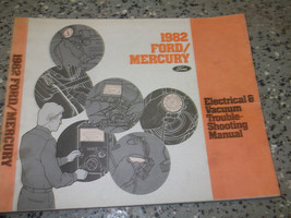 1982 FORD LTD L T D Wiring Electrical TROUBLESHOOTING Shop Repair Manual... - $12.77