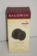 Baldwin Prestige Carnaby Round Half-Dummy Inactive Knob Venetian Bronze 351 CYK - $16.82