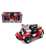 Maisto 1929 Ford Model AA Matt Black/Red Muscle Machines 1/18 Model Car - $72.88