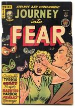 Journey Into Fear #4 1951- Eye cover- Circus freaks- Golden Age horror FAIR - $81.97