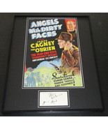 Pat O'Brien Signed Framed 16x20 Photo Display Angels With Dirty Faces - $168.29