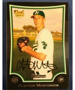 2009 (ATHLETICS) Bowman Draft Baseball Card #BDP38 Clayton Mortensen RC - $0.99