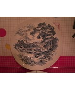 Countryside Enoch Wedgewood Turnstall Dinner Plates Blue White Vintage C... - $10.80