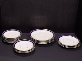 17 Pc Mixed Lot Vintage ROSENTHAL Germany Fine China Plates Saucers 2557 ELSE - $73.76