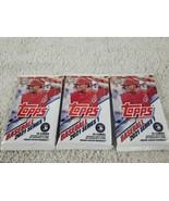 Lot Of 3 Topps 2021 Baseball Series 1 Cello Packs 16 Cards Per Pack New ... - $27.88