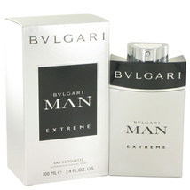 Bvlgari Man Extreme By Bvlgari Eau De Toilette Spray 3.4 Oz For Men - $58.84