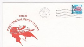 STS-27 POST ORBITAL FERRY FLIGHT EDWARDS, CA 12/11/1988 - $1.98