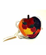 Just The Right Shoe Fruity Purse 25321 Mini Collectible 2000 Beverly Fel... - $19.79