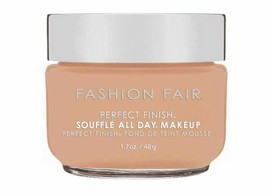 Fashion Fair Perfect Finish Souffle All Day Makeup Breathtaking Beige 1.... - $29.69